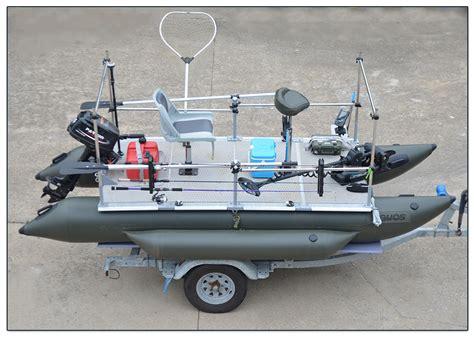 inflatable pontoon fishing boats ebay aquos 380 green inflatable pontoon fishing boat ebay