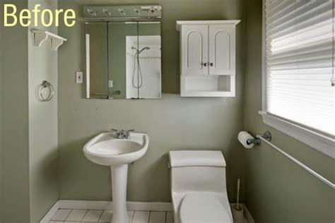 the bath showcase beforeandafter zinka�s diy bath remodel