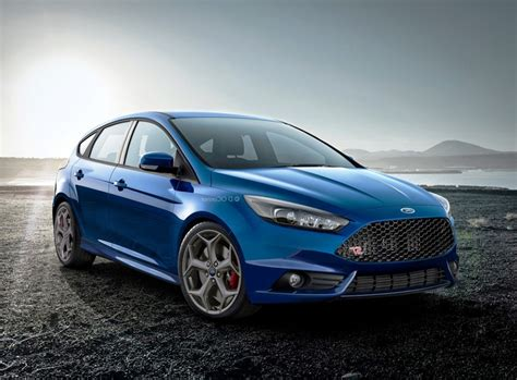 St Blue Pin Ford Focus St Blue Widescreen Wallpaper On