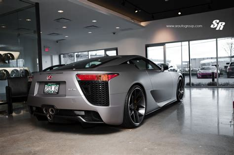 custom lexus lfa custom wrapped matte silver lexus lfa heading to vancouver