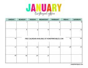 Free Printable 2018 Monthly Calendar Printable Calendar 2018 In Colors Free To Print