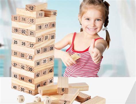 Promo Wooden Uno Stacko Angka Jumbo popular jenga buy cheap jenga lots from china jenga suppliers on aliexpress