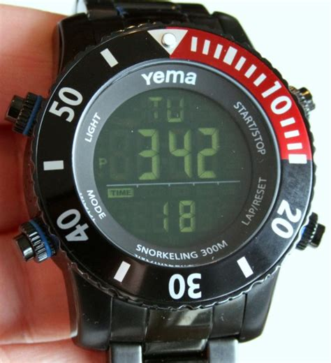 digital dive yema ymhf0310 digital diver review ablogtowatch