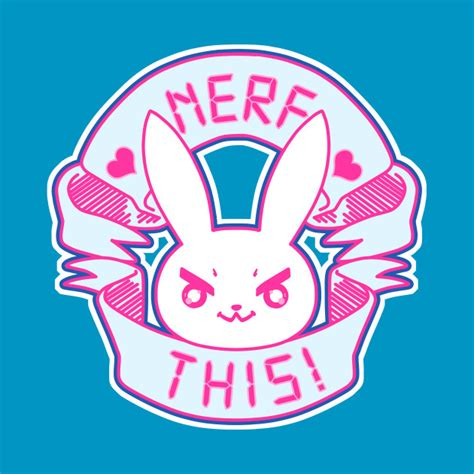 T Shirt Nerf This d va inspired bunny nerf this overwatch t shirt