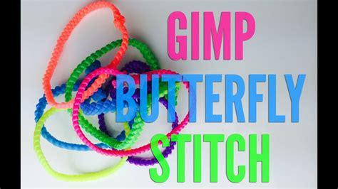 butterfly gimp bracelet step  step boondoggle tutorial youtube