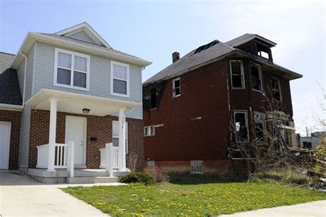 Southwest Housing Solutions by New Detroit Housing Amid Blight Gets Mixed Response