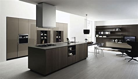 Decorating Kitchen Island by Modern Black And White Italian Kitchen Designs Italian