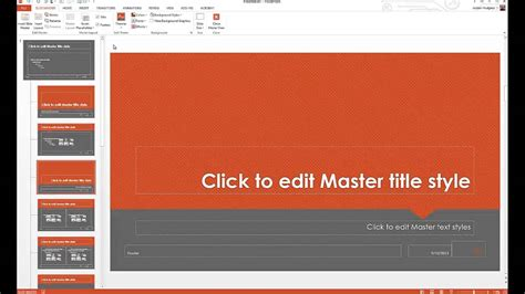 how to customize powerpoint templates youtube
