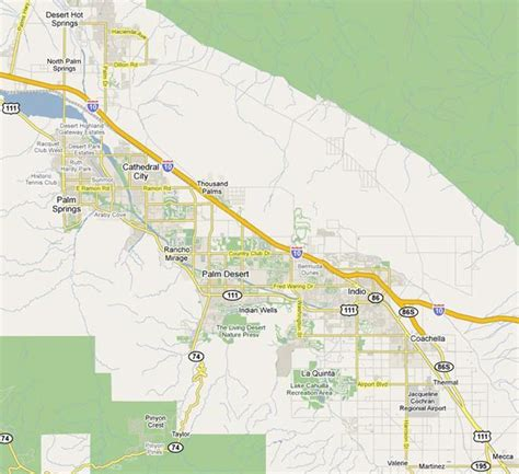 palm springs map palm springs homes houses for sale palm springs desert homes
