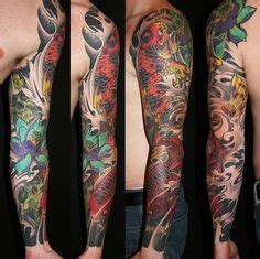 biomechanical tattoo calgary beautiful design and incredible color saturation in this
