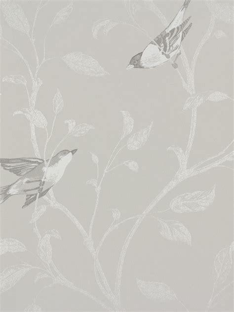 wallpaper grey or silver wallpaper rasch tendresse non woven wallpaper 798920 bird