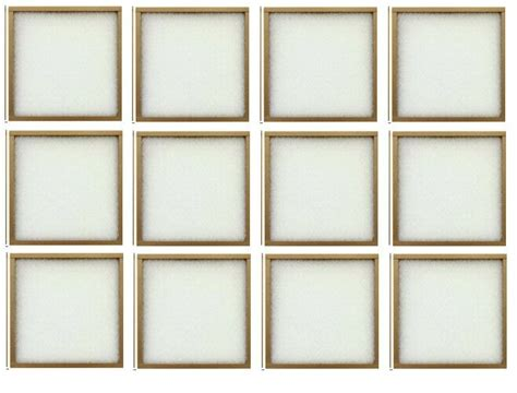 air conditioner furnace filter 20x20x1 furnace air conditioner filter lot of 12 ebay