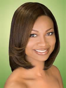 Middle part short bob hairstyles for black women free printable