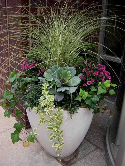 Fabulous Fall Flower Containers | fabulous fall flower containers color architecture