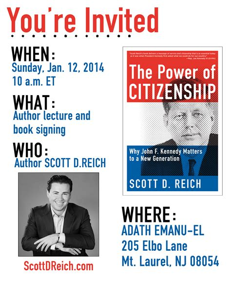 news events scott d reich