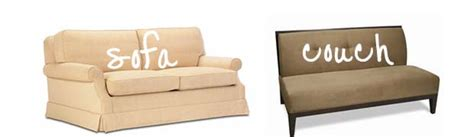 couch and sofa difference couch vs sofa what s the difference between sofa and couch