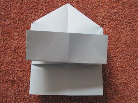 How To Make A Mailbox Out Of Paper - origami disposable trash box 183 how to fold an