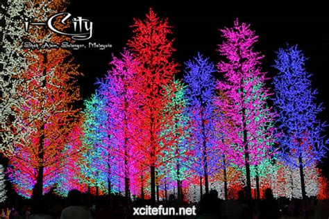 Lu Led Warna Warni i city high tech theme park malaysia xcitefun net