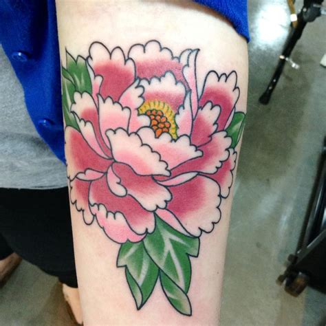 tattoo flowers traditional 50 traditional peony tattoos designs and ideas