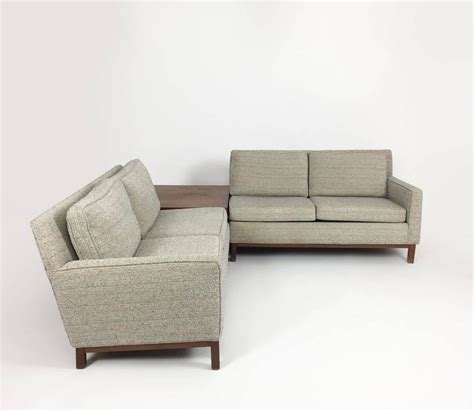 danish modern sectional danish modern henredon sectional sofa with corner storage