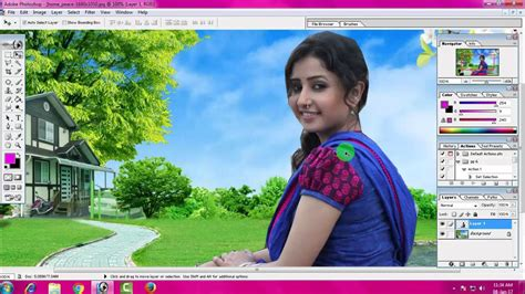 adobe photoshop tutorial 4 all how to change background adobe photoshop 7 0 in hindi