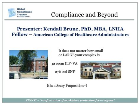 Mba Health Care Compliance Linkedin by Healthcare Compliance Presentation