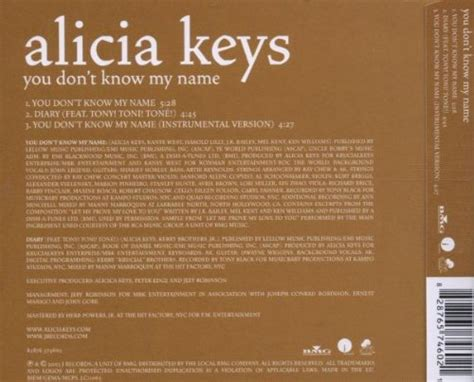 alicia keys you don t know my name alicia keys you don t know m sale r50 off your first