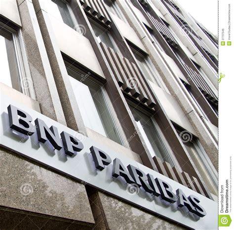 paribas bank bnp paribas bank editorial photo image 27737546