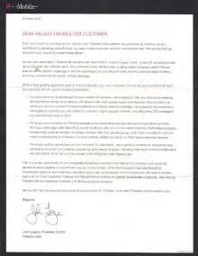 Customer Letter Announcing Merger T Mobile Sends Letter To Customers Explaining Metropcs Merger Impact Tmonews