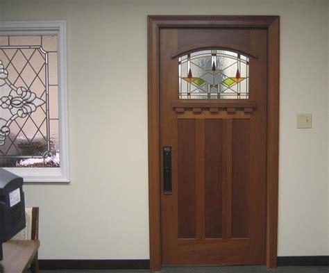 Doors By Decora This Craftsman Door Is Located In Our Stained Glass Front Door