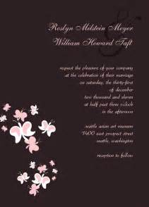 hallmark wedding invitations template best template collection