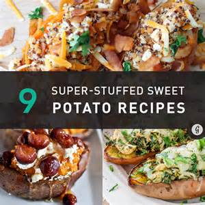 9 super easy stuffed sweet potato recipes