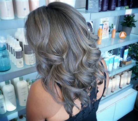 Grau Str 228 Hnen Mit Verschiedene Haarfarben