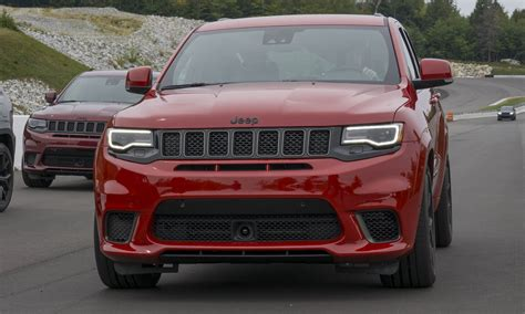 first jeep grand cherokee 2018 jeep grand cherokee trackhawk first drive review