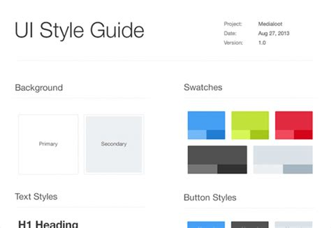 free style guide psd creative beacon