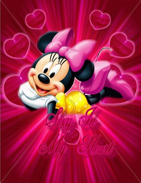 wallpaper minnie pink minnie hot pink wallpaper by huckaberry40 on deviantart