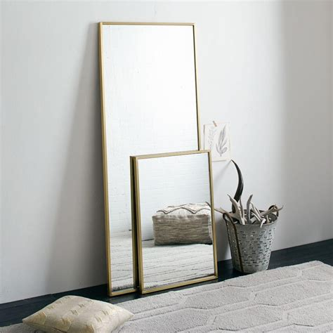 metal floor mirror west elm australia