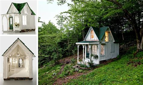 tiny house styles the shabby chic dollhouse recreates a victorian style