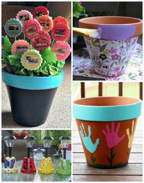 flower pot crafts for 17 best images about gift ideas on