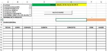 formatos de contabilidad descarga gratis tu sistema contable en excel y