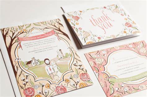 Hochzeitseinladung Zeichnung by Wedding Invitations Mywedding