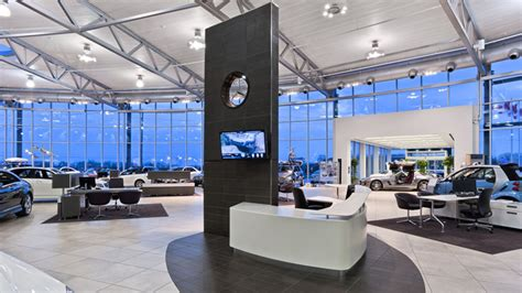 mercedes showroom interior car dealerships are enhanced with ceilcote spray painting