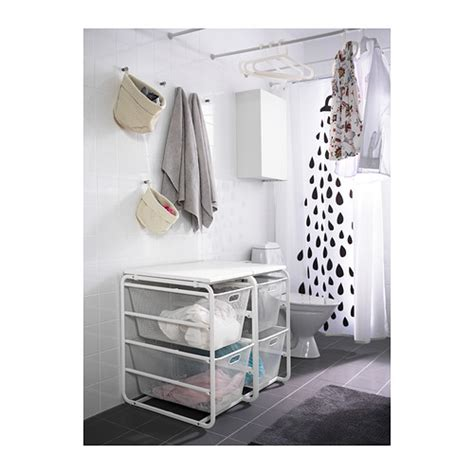 Clothes Storage Systems In Bedrooms Algot Frame With 2 Mesh Baskets Top Shelf Ikea