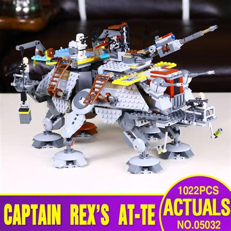 lepin starwars 740pcs lepin 05032 740pcs wars captain rex s at te 75157