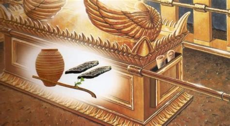 Miniatur Tabut Perjanjian The Ark Of The Covenant theos 2 one god one lord