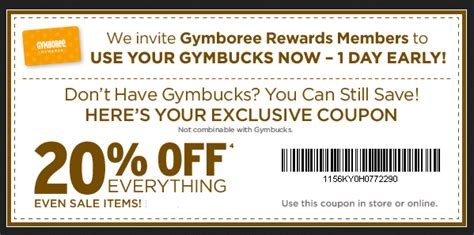printable coupons for gymboree outlet 20 off gymboree coupon 2017 2018 best cars reviews
