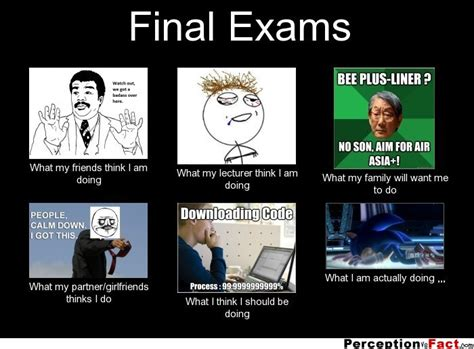 Exams Meme - final exams what people think i do what i really do
