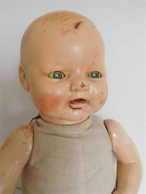 composition doll hospital vintage 1930 s horsman baby dimples composition fixer doll