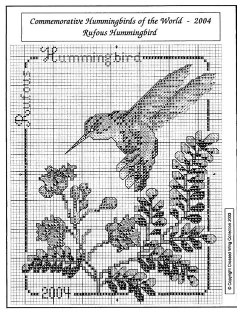 17 Best images about Cross Stitch -- Hummingbirds on