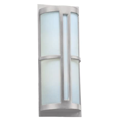 Contemporary Outdoor Wall Sconce Plc 31738sl Rox Contemporary Silver Outdoor Wall Lighting
